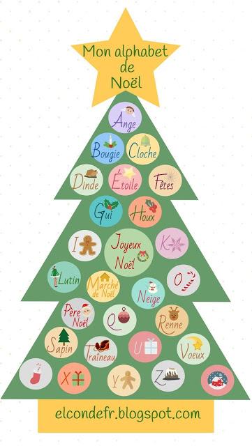 Alphabet Noel